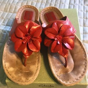 Clark's brand ladies sandals size 9